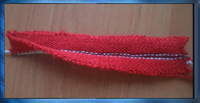 круговое вязание с одним открытым краем школа машинного вязания
