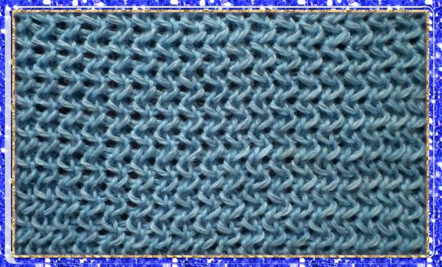 Жемчужная резинка машинное вязание 92